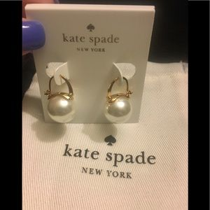 🆕 ♠️ NWT Kate Spade ♠️ Pearl Drop Earrings